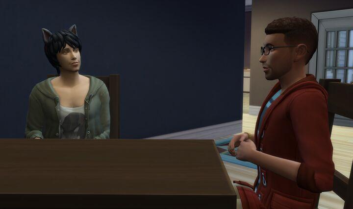 koppla upp dig med Sims 4 Jag är en junior flicka dating en förstaårselev