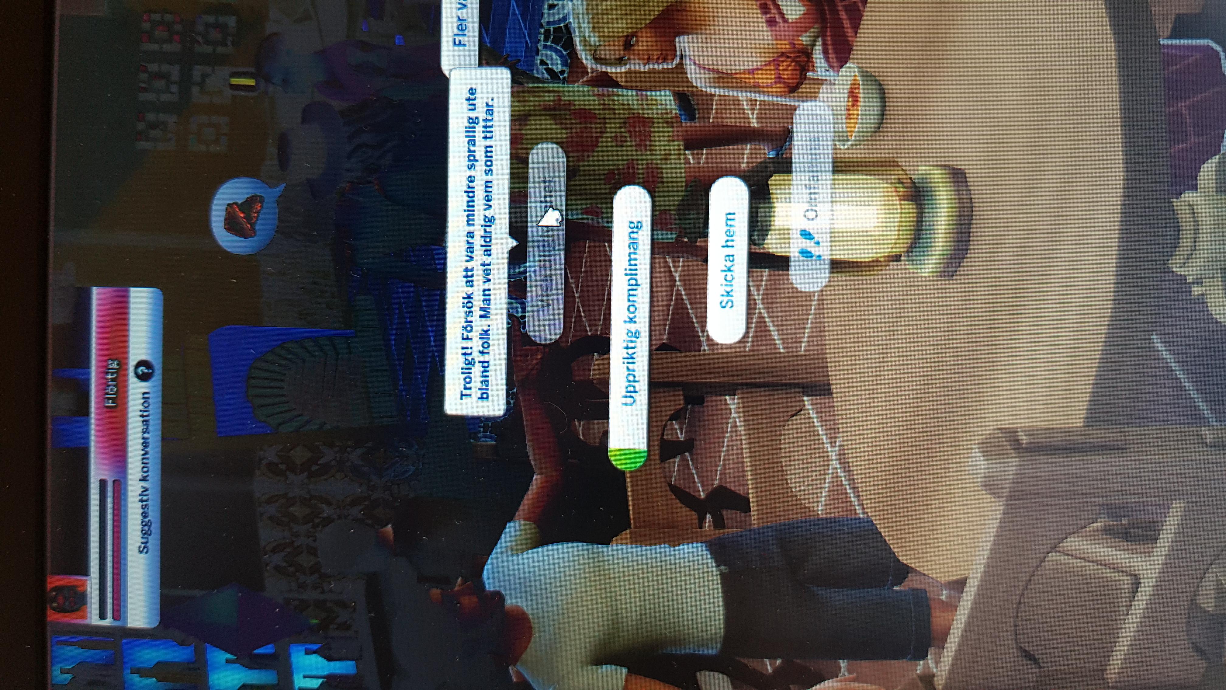 Sims 3 universitets dejting