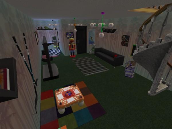 Inredning källare lekrum : TS2 Husbyggen! - 11. TS1 & TS2 - Allmänt - The Sims iFokus